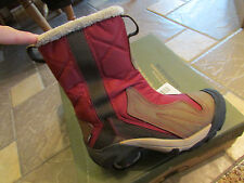 NEW KEEN BETTY WINTER BOOTS WOMENS 5 MID MADDER/BLACK COLD WEATHER WATERPROOF