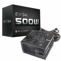 EVGA 500W 80PLUS Certified ATX12V/EPS12V Power Supply 100-W1-0500-KR
