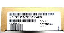 NEW SEALED SIEMENS 6ES7 331-7PF11-0AB0 INPUT MODULE 6ES73317PF110AB0
