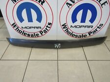 Dodge Ram Graphite Metalic Smoke Front Bug Deflector W/Logo NEW OEM MOPAR