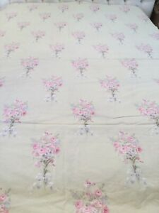 Simply Shabby Chic Twin Duvet  Bramble Rose Bouquet Green Pink