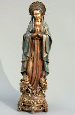Our Lady Statue Religious Saint Virgin Mary Angel Sculpture Mother God Figurine
