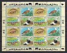 UNO New York 1995 postfrisch MiNr.  681-684  Gefährdete Arten