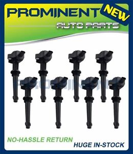 8 PC Ignition Coil Replace for 2010-2011 JAGUAR UF637 XF XFR XJ XK XKR V8 5.0L