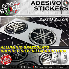 Adesivo / Sticker 3D diapason logo YAMAHA R1 R6 FZ1 FZ6 MT 10 09 XT T MAX TENERE