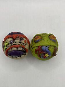 Madballs Mini Squirters Lot Deck Head Creep Frog 2009