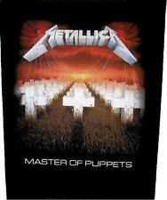 "Metallica Dos Écusson/Backpatch # 11 ""MASTER OF PUPPETS"""