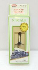 MODEL POWER 8572 N SCALE RAILROAD SIGNAL 4 WAY PREWIRED SWITCH with BRASS PARTS