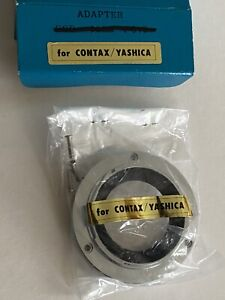 Contax/Yashica Bayonet Adapter For Panagor 500mm f/8 Lens, NOS In Box