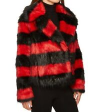McQ Shrunken Pea Coat Red/ Black  Women's size 4 US Euro 40 Retail 695.00