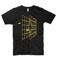 Star Wars Millenium Falcon Stay On Target T Shirt Han Solo Chewbacca X-Wing