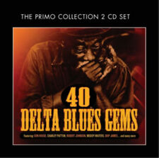 Various Artists : 40 Delta Blues Gems CD (2012) ***NEW***