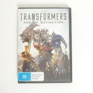 Transformers Age of Extinction DVD Movie Region 4 Free Postage - Action