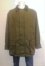 Ralph Lauren Waxed cotton Jacket with warm Wool / Blend check lining in Size XL
