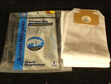Oreck Magnesium Upright Vacuum Cleaner Bags 3 Pk Allergy Sufferers 3 PLY