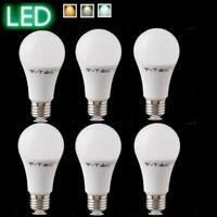LED Glühlampe E27 warmweiß weiß tageslicht Glühbirne 6St. 9W 2700K 4000K 6400K