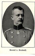 General von Gersdorff *  WW1