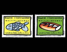 Hunger Combat - Bread Fish Mi 2610-11 Sn 2509-10 Yt 2189-90 RHM C-1908-09