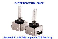 2x Top D3S 6000K 35w Xenon Ersatz Lampen VW SCIROCCO 137 138 ab 2015