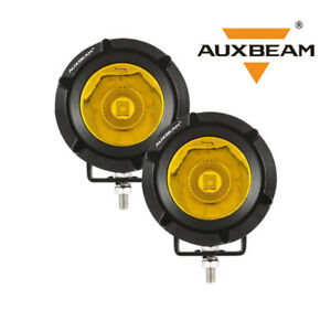Auxbeam 3.5 inch LED Work Light Bar Yellow Flood Spot Pods Driving Offroad Fog