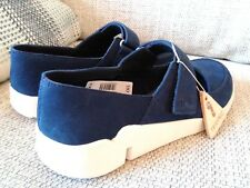 Clarks Trigenic Amanda navy blue shoes, UK 4, EUR 37, US 6.5, Very comfy/light