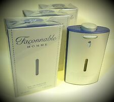 3 X Façonnable / Faconnable Homme Eau de Toilette Spray 50 ml = 150 ml