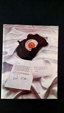THE BEATLES PAUL McCARTNEY & WINGS  (1979) RARE ORIGINAL PRINT PROMO POSTER AD