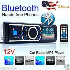 Bluetooth Car Stereo Audio In-Dash FM Aux Input Receiver SD USB MP3 Radio PlayAA