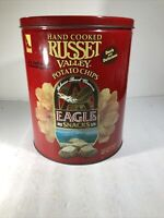 Hand Cooked Russette Valley Potato Chip Eagle Snack Anheuser Busch Co. Vintage