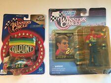 1997 JEFF GORDON NASCAR Winner's Circle Starting Lineup Figure DuPont Diecast