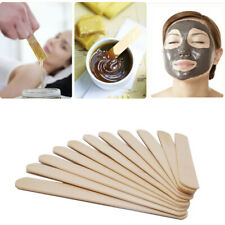 10-100 x Large Waxing Sticks Wooden Wax Spatula Hair Depilatory Tongue Depressor