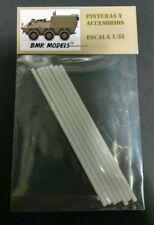 BMR Models - Varillas de plástico Ø 3mm. para modelismo