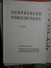 Wilhelm Müller: Schrifttum zur Verkehrsgeschichte Frankens, Nürnberg 1965