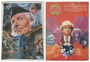 Set Of 2 Doctor Who: An Unearthly Child & Doctor Who Magazine #174 Posters