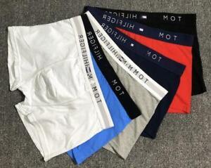 New Men Breathable Underwear Boxer Briefs Shorts Bulge Pouch Cotton Underpants