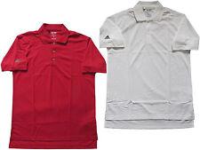 Adidas polo para hombre Camisa talla S camisa de polo rojo blanco x25614 nuevo