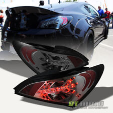 Smoked For 2010-2012 Genesis Coupe 2Dr Lumileds LED Tail Lights Lamps Left+Right