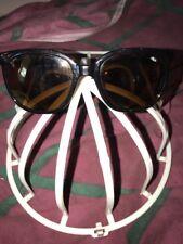 Vtg Bolle Cat Eye Sunglasses France 396 H Made 1980-90s