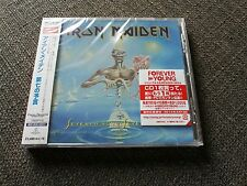 Iron Maiden - Seventh Son of a Seventh Son Cd Sigillato Mint Japan Import w/ Obi