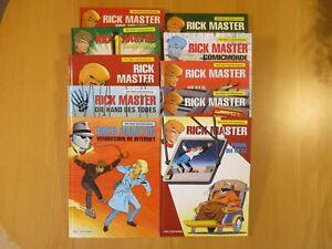 Rick Master, 10 Alben, Nr. 56-65, Kult Editionen
