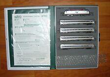 Kato 106-8001, 5tlg. set, Amtrak acs-64 (Siemens) +4 coches, Amfleet I, N, neu&ovp