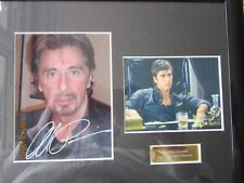 All Pacino Autographed framed and authenticated picture