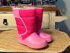 Kids Crocs LodgePoint Snow Boots Sz C10