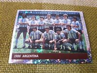 ARGENTINA 1986 FIGURINA DS STICKERS FRANCE 98 WORLD CUP new