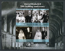 St Vincent Grenadines 2017 MNH Queen Elizabeth II Platinum Wedding 4v M/S Stamps