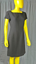 Jones of New York Women's Little Black Dress Size 8 Fitted Sht Sleeve Worn 2x's