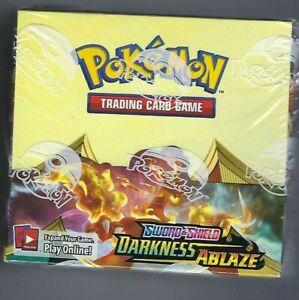 Sword & Shield Darkness Ablaze Factory Sealed Booster Box 36 ct NEW Pokemon TCG