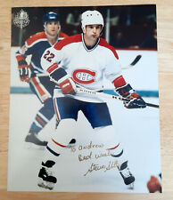 NHL Steve Shutt  Montreal Canadiens Autographed Color 8 X 10 Photo Picture