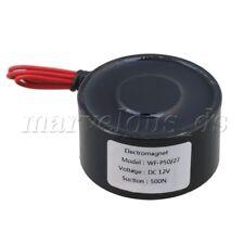 Metall 50kg Elektrohubmagnet Halten Elektromagnet 12V DC 500N Neu