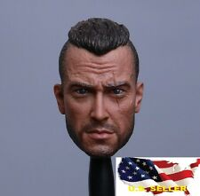1/6 John Soap MacTavish Head Army SWAT Soldier Call of Duty for Hot Toys ❶USA❶